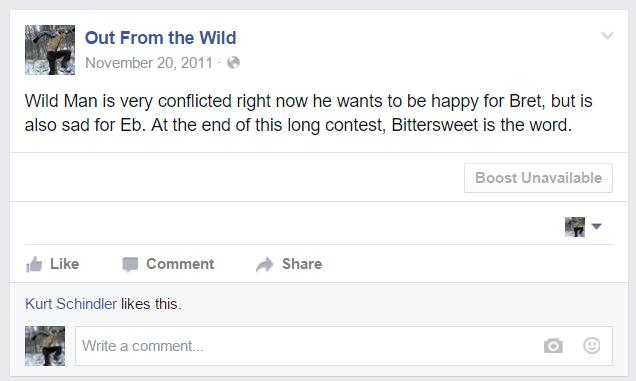 Wild Man's Final Statements